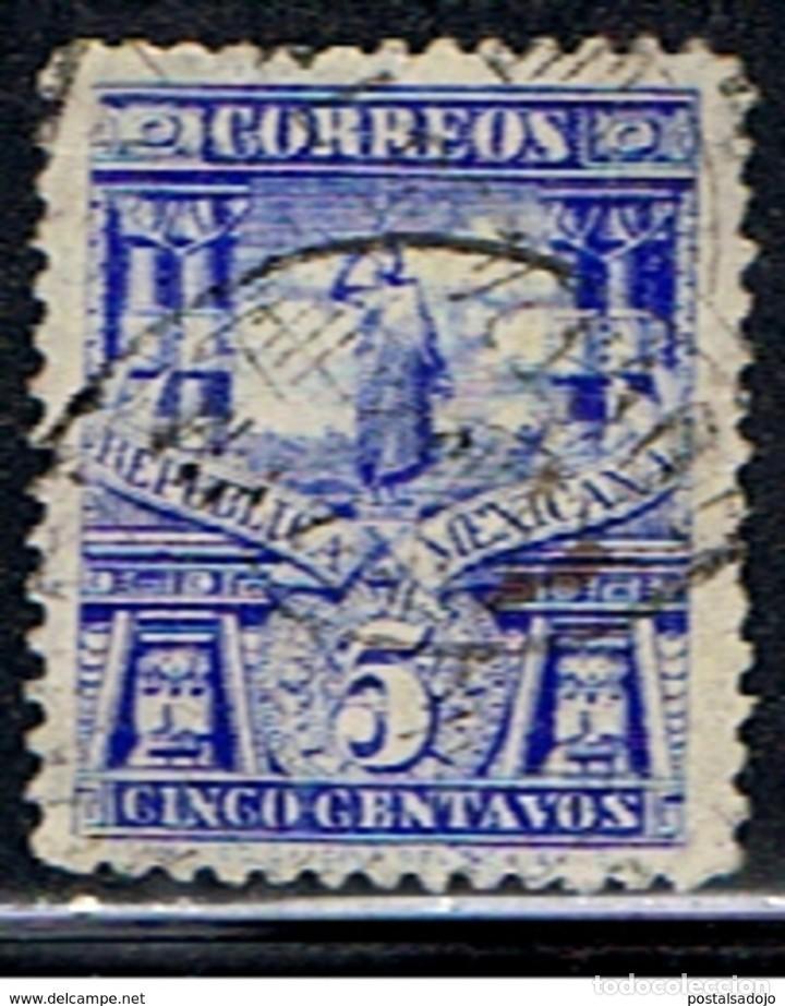 MEXICO // YVERT 161 // 1897 ... USADO (Sellos - Extranjero - América - México)