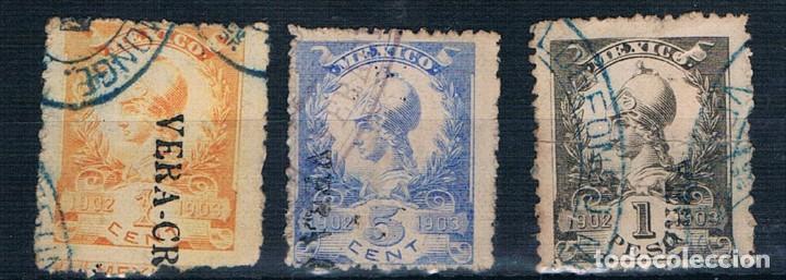 MEXICO TASAS 1902/1903 USADOS VER (Sellos - Extranjero - América - México)