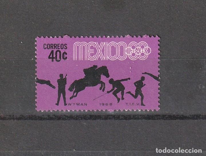 MEXICO JUEGOS OLIMPICOS 1968 40 CTS (Sellos - Extranjero - América - México)
