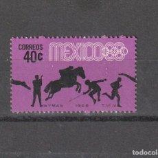 Sellos: MEXICO JUEGOS OLIMPICOS 1968 40 CTS. Lote 218537447