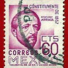 Francobolli: MEJICO. 1956. PONCIANO ARRIAGA. Lote 222254720
