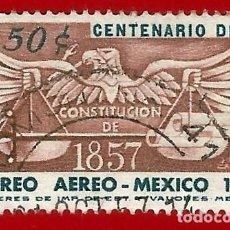Sellos: MEJICO. 1957. CENTENARIO DE LA CONSTITUCION. Lote 222301287