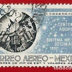 Francobolli: MEJICO. 1957. SISTEMA METRICO DECIMAL. Lote 222301373