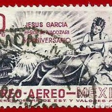 Francobolli: MEJICO. 1957. MUERTE DE JESUS GARCIA. Lote 222301426