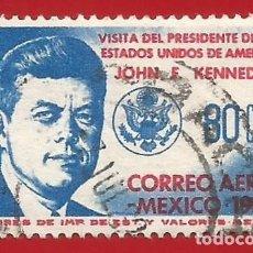 Sellos: MEJICO. 1962. JOHN F. KENNEDY. Lote 222301875
