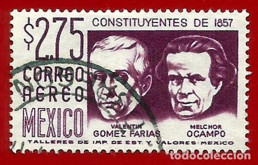 MEJICO. 1963. CONSTITUYENTES DE 1857 (Sellos - Extranjero - América - México)