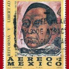 Sellos: MEJICO. 1972. BENITO JUAREZ. Lote 222306502