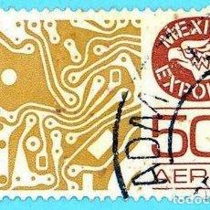 Sellos: MEJICO. 1979. MEXICO EXPORTA. COMPONENTES ELECTRONICOS. Lote 222307328