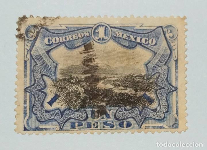 """SELLOS DE MEXICO 1900 SELLOS POSTALES DE MÉXICO DE 1899 """"OFICIAL"""" SOBREIMPRESO (Sellos - Extranjero - América - México)"""