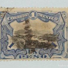 "Sellos: SELLOS DE MEXICO 1900 SELLOS POSTALES DE MÉXICO DE 1899 ""OFICIAL"" SOBREIMPRESO. Lote 223416091"