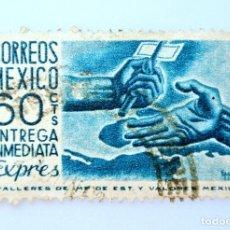 Sellos: SELLO POSTAL MÉXICO 1954, 60 CTS, EXPRES ENTREGA INMEDIATA, USADO. Lote 231980860