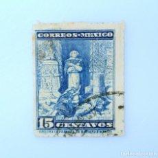 Sellos: SELLO POSTAL MÉXICO 1933, 15 CTS, BARTOLOME DE LAS CASAS, USADO. Lote 232747165