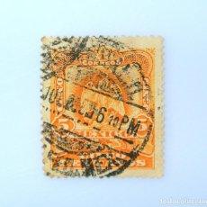Sellos: SELLO POSTAL MÉXICO 1903, 15 CTS, ESCUDO DE ARMAS, USADO. Lote 232816485