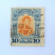 Sellos: SELLO POSTAL MÉXICO 1910, 10 CTS, IGNACIO ALLENDE, USADO. Lote 233130635