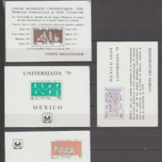 Sellos: MEXICO,1979. UNIVERSIADA. Lote 234853900