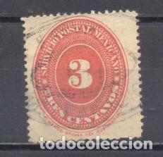 MEXICO 1887, USADO (Sellos - Extranjero - América - México)