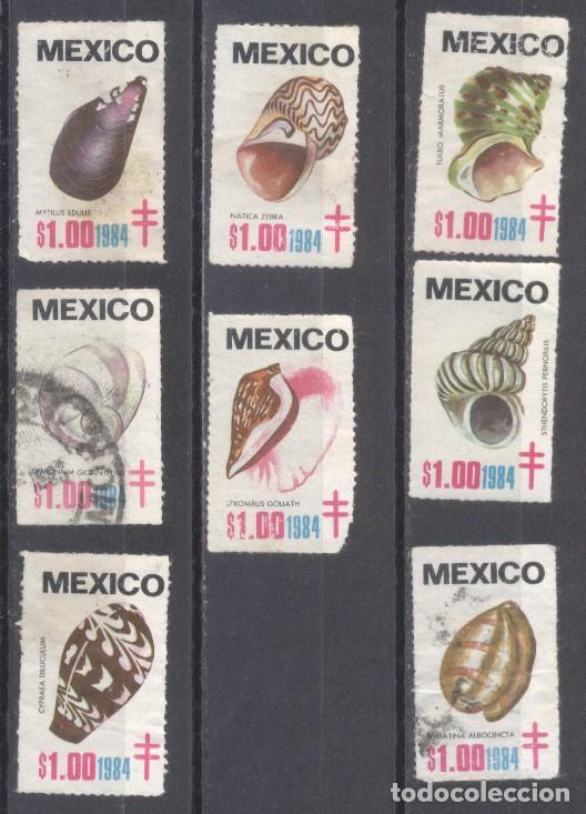 MEXICO 1984, USADO, PRO-TUBERCULOSIS (Sellos - Extranjero - América - México)