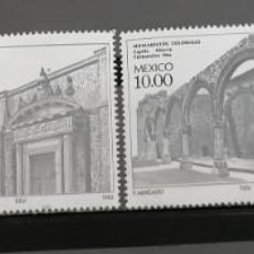 Sellos: 1982. MEXICO ,. SERIE. ARQUITECTURA COLONIAL .**. MNH (21-90). Lote 240002650