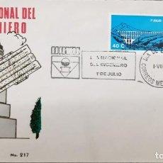 Sellos: O) 1974 MÉXICO, PUENTE, ACUEDUCTO TEPOTZOTLAN, DÍA DEL INGENIERO, FDC XF. Lote 243692240