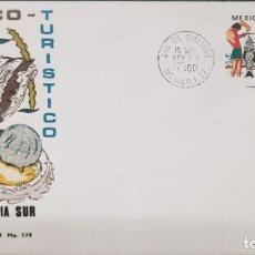 Sellos: O) 1973 MÉXICO, TEMA TURÍSTICO, PESCA DEPORTIVA, FDC XF. Lote 243903680