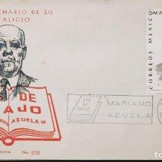 Sellos: O) 1974 MÉXICO, MARIANO AZUELA, ESCRITOR, FDC XF. Lote 243905320