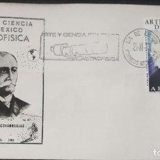 Sellos: O) 1973 MÉXICO, ERROR, FRANCISCO DIAZ COVARRUBIAS - TOPÓGRAFO, CARLOS DE SIGUENZA Y GONGORA, ASTRÓNO. Lote 246602575