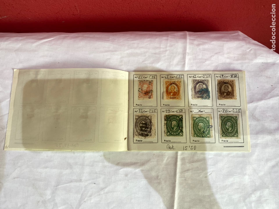 Sellos: Álbum de sellos antiguos México clasificados. 84 piezas .ver fotos - Foto 3 - 261786665