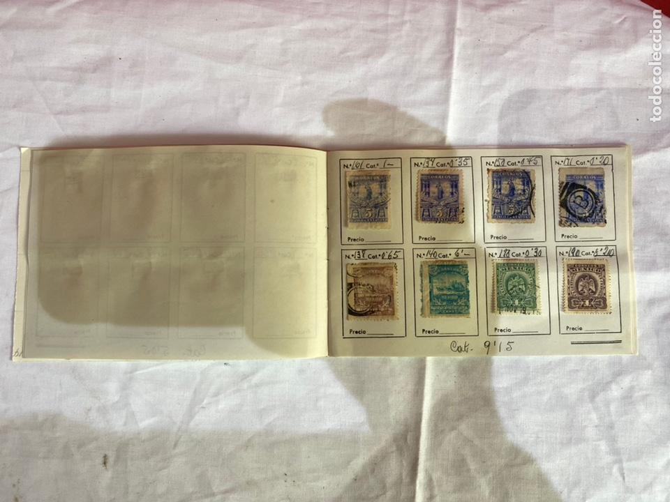 Sellos: Álbum de sellos antiguos México clasificados. 84 piezas .ver fotos - Foto 5 - 261786665