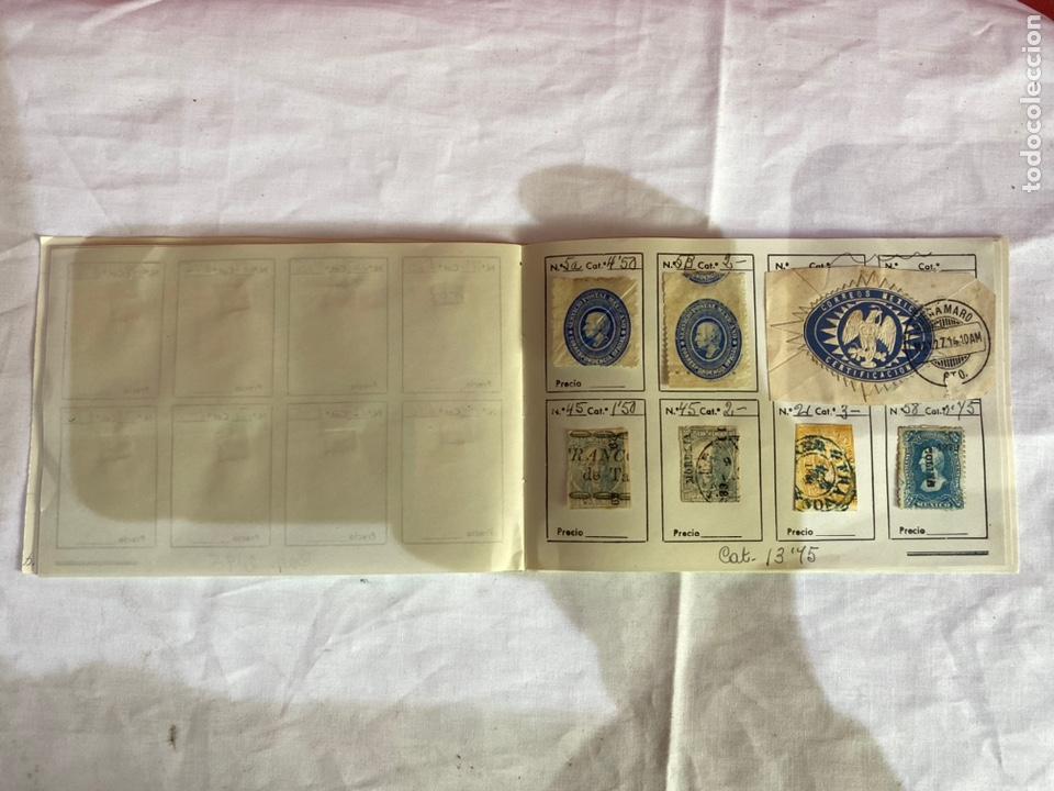 Sellos: Álbum de sellos antiguos México clasificados. 84 piezas .ver fotos - Foto 9 - 261786665