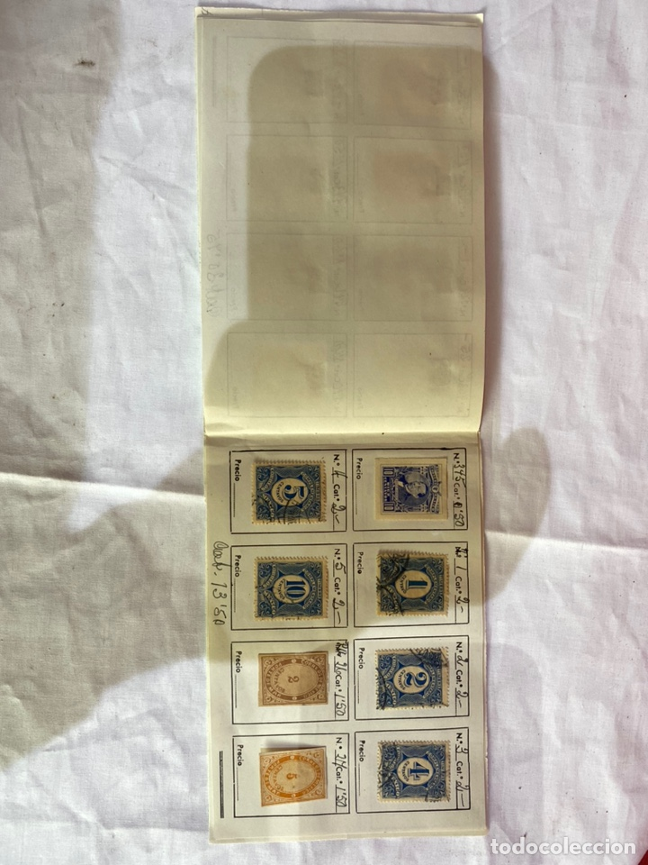 Sellos: Álbum de sellos antiguos México clasificados. 84 piezas .ver fotos - Foto 11 - 261786665