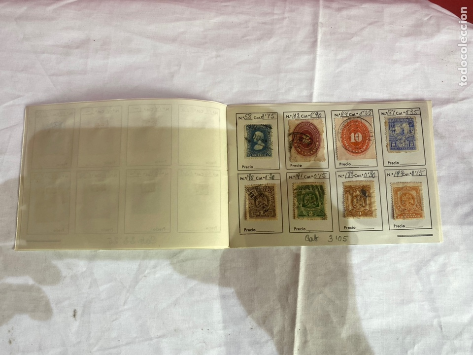 Sellos: Álbum de sellos antiguos México catalogados .ver fotos - Foto 3 - 261792205
