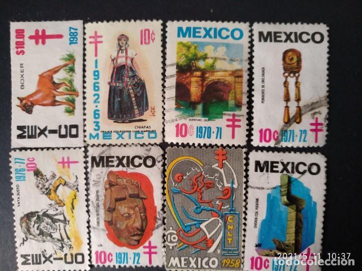 Sellos: MEXICO, 26 SELLOS ANTIGUOS @ - Foto 2 - 262367395