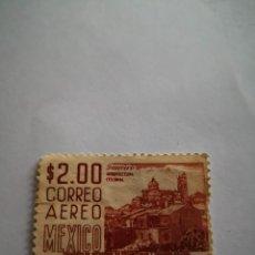 Sellos: SELLOS CORREO AEREO MEXICO 2 $ GUERRERO ARQUITECTURA COLONIAL. Lote 262823125