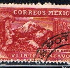 Sellos: MEXICO // YVERT 63 AEREO // 1934-35 .. USADO. Lote 262945840