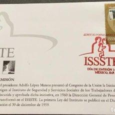 Sellos: O) 2004 MÉXICO, INSTITUTO ESTATAL DE TRABAJADORES DE SERVICIO SOCIAL Y SEGURIDAD POR EL PRESIDENTE A. Lote 269979613