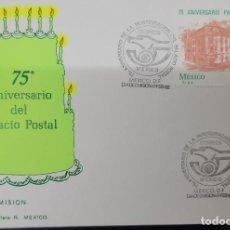 Sellos: O) 1982 MÉXICO, ARQUITECTURA DEL PALACIO POSTAL, SEDE, FDC XF. Lote 269986778