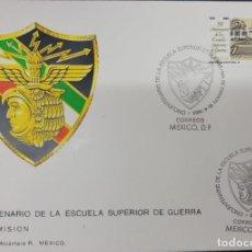Sellos: O) 1982 MÉXICO, ACADEMIA MILITAR, DESDE 1932, ARQUITECTURA, EDIFICIO, FDC XF. Lote 270186143