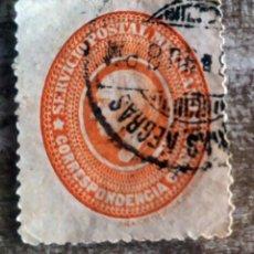 Sellos: MEJICO , MEXICO 1884 SELLO POSTAL PARA USO OFICIAL. Lote 280112913