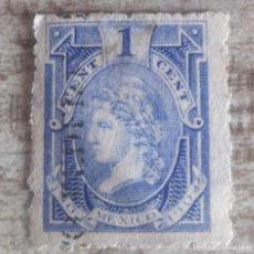 Sellos: MÉXICO 1 CENTAVO MEXICO 1903 -1904. USADO 1 CENTAVO. FISCAL.. Lote 280387053