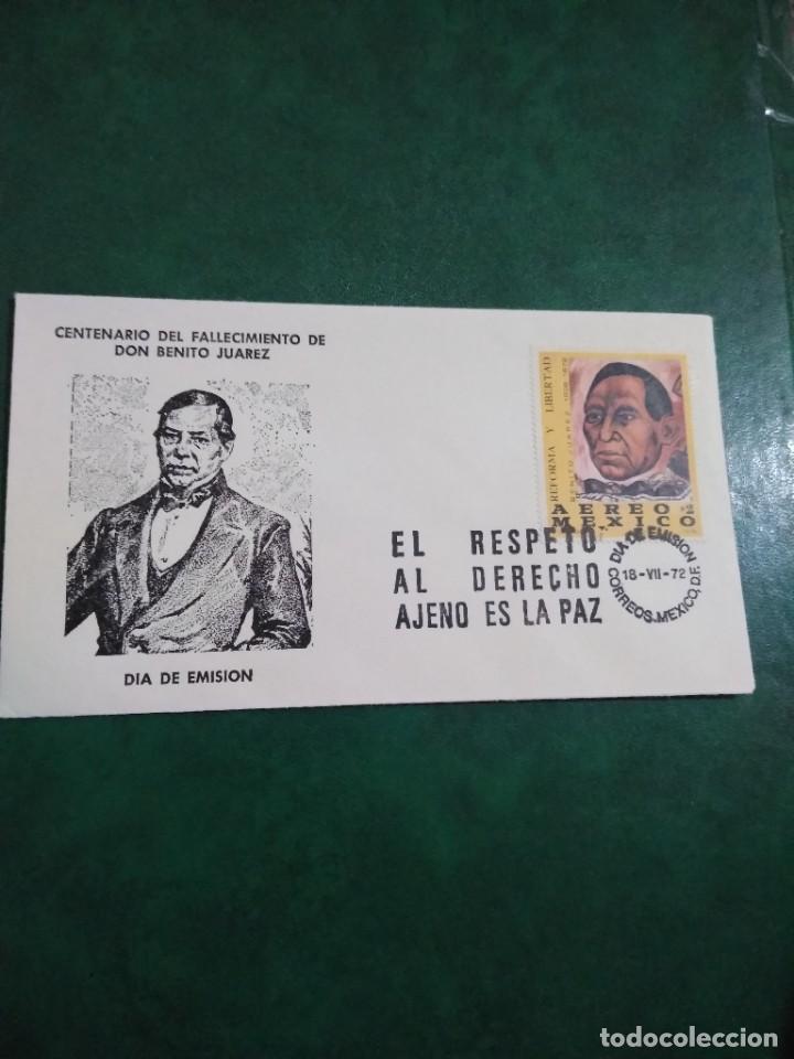 Sellos: 10 sobres México. Sellos - Foto 10 - 286896978