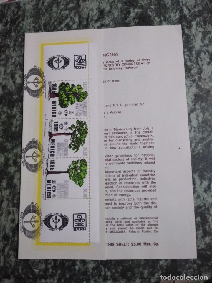 Sellos: 3 folletos conmemorativos. Sellos mexico - Foto 2 - 286908633