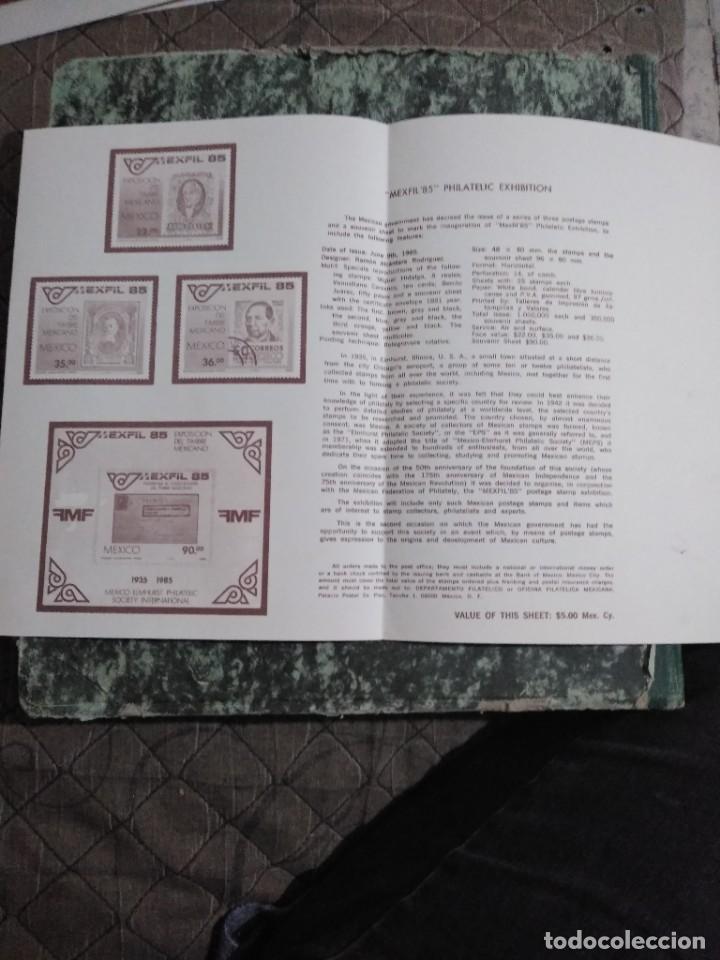 Sellos: 3 folletos conmemorativos. Sellos mexico - Foto 5 - 286908633