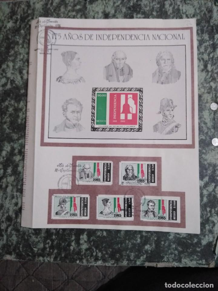 Sellos: 3 folletos conmemorativos. Sellos mexico - Foto 3 - 286908883