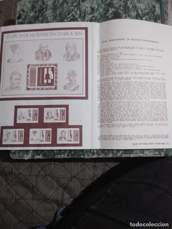 Sellos: 3 folletos conmemorativos. Sellos mexico - Foto 4 - 286908883