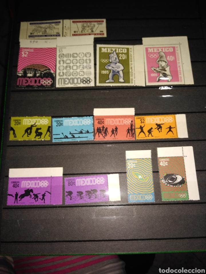 Sellos: Lote 14 sellos mexico - Foto 2 - 287806793