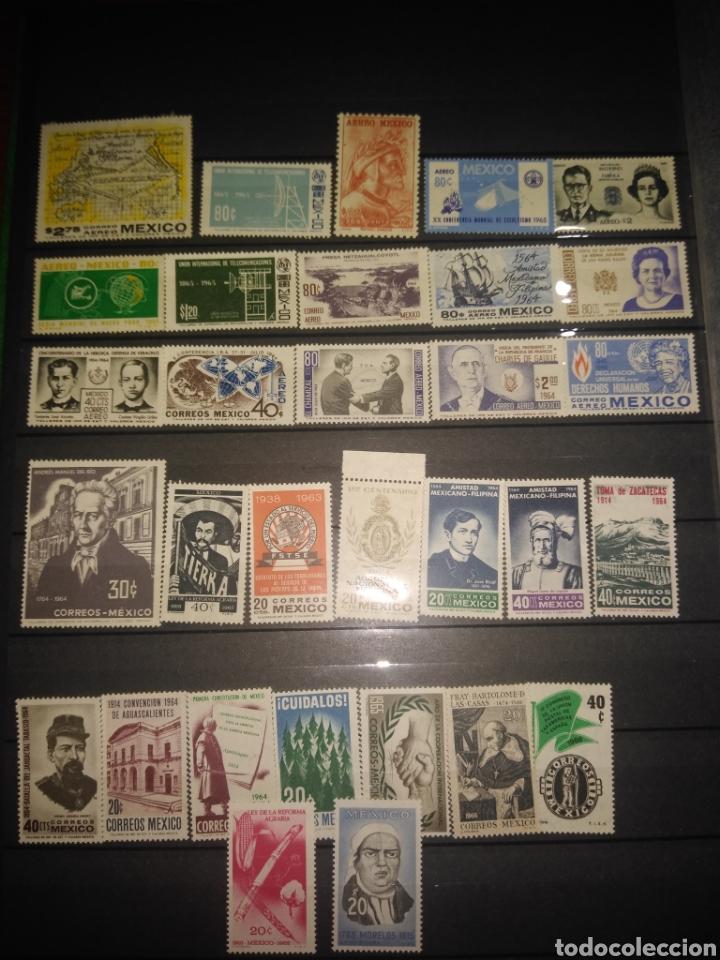 31 SELLOS MÉXICO 1964-65 (Sellos - Extranjero - América - México)