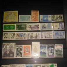 Sellos: 31 SELLOS MÉXICO 1964-65. Lote 287963403