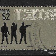 Sellos: MÉXICO. YVERT Nº 748 USADO Y DEFECTUOSO. Lote 289641543