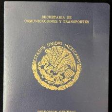 Sellos: MEXICO 1959, SELLOS NUEVOS, SECRETARIA DE COMUNICACIONES Y TRANSPORTES. ESTADOS UNIDOS MEXICANOS.. Lote 295376673