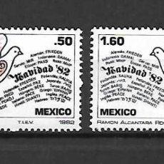 Sellos: SELLOS DE NAVIDAD. ,MÉXICO. AÑO 1982. Lote 295421778